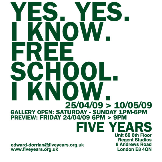 YES. YES. I KNOW. FREE SCHOOL. I KNOW. Slected by Ana Cavic, Renee ...